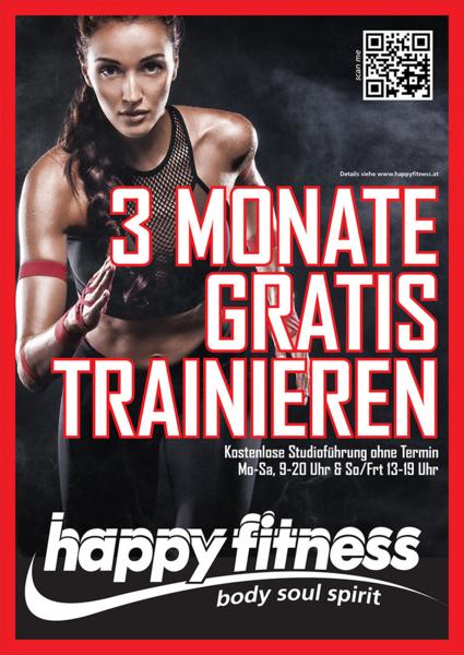 3 Monate gratis trainieren