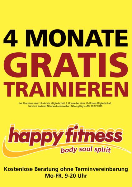4 Monate gratis trainieren