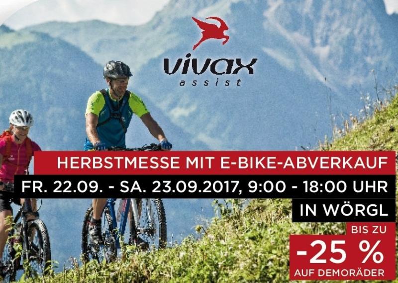 vivax E-Bike Abverkauf bis zu 25% Rabatt