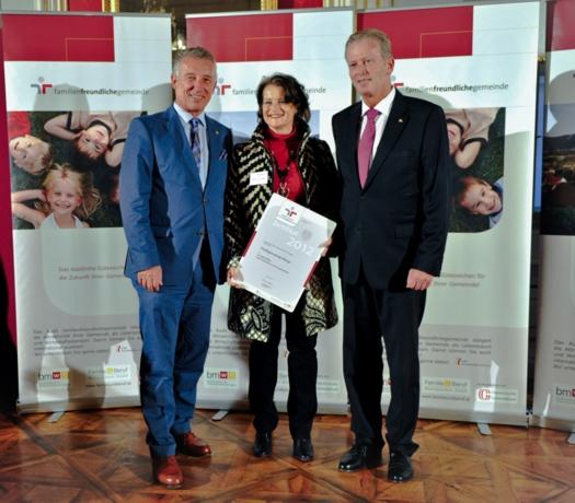 Verleihung Zertifikat in Salzburg