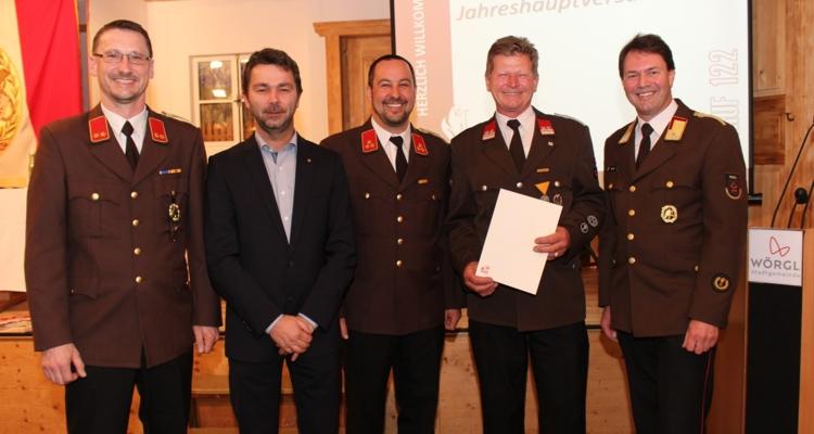 17.981 freiwillige Stunden: FF Wörgl zog Bilanz über das vergangene Jahr