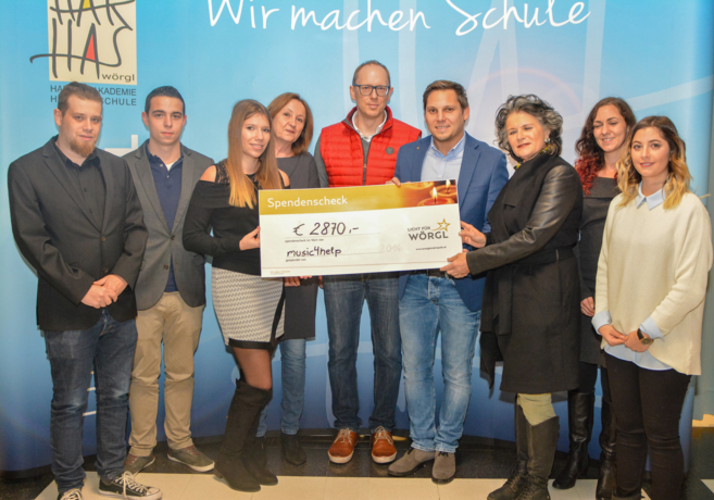 2870.- Euro für mehr Licht in Wörgl