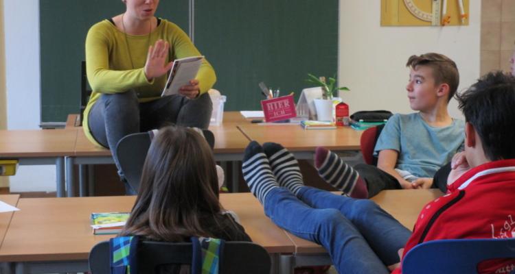 2. Tiroler Vorlesetag an der Sportmittelschule Wörgl 1