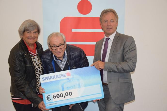 € 600,- für den Wörgler Gesundheits- und Sozialsprengel
