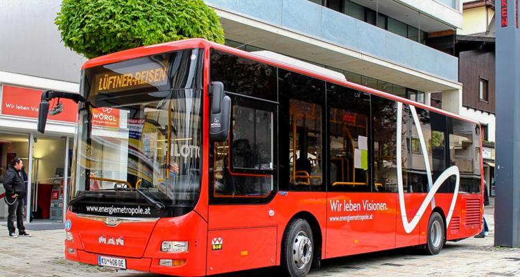 Mobil in Wörgl mit dem kostenlosen Citybus zu Allerheiligen.