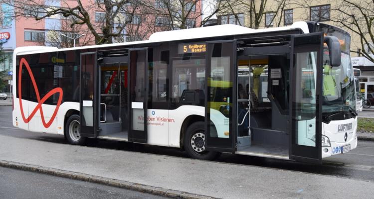 Amtl. Mitteilung der Stadtgemeinde Wörgl: Ab 2. Mai wieder normaler City-Bus-Fahrplan