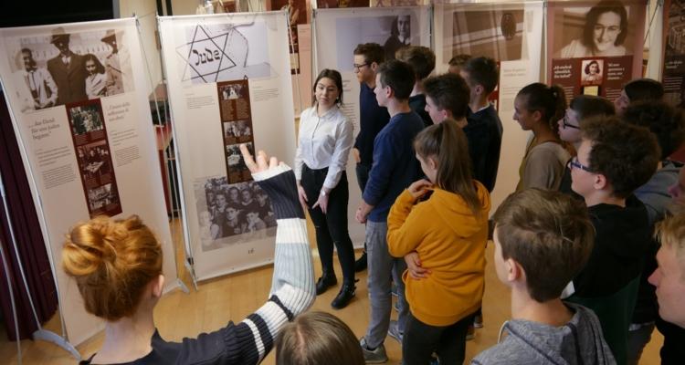 Anne Frank-Ausstellung in Wörgl.