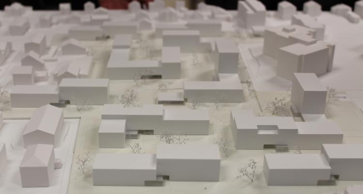 Das Siegerprojekt vom Architekturbüro Hanno Vogl-Fernheim wird in der Ausstellung ebenso wie alle weiteren eingereichten 19 Projekte gezeigt