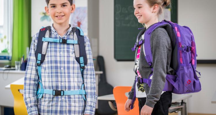 AUVA: Die richtige Schultasche für einen gesunden Rücken