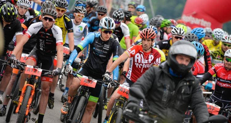 Besucheransturm beim eldoRADo Bikefestival