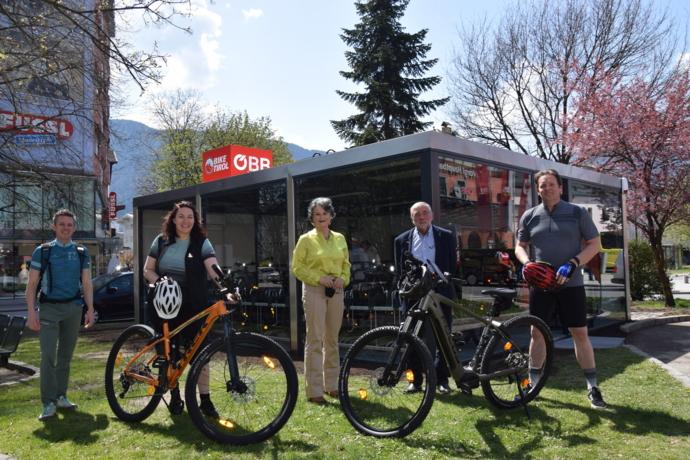 Bike Tirol: Neues Fahrrad-Verleihsystem in Tirol