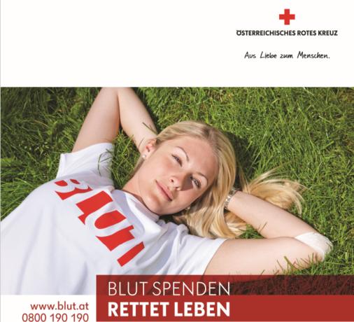 Blutspendeaktion in Wörgl
