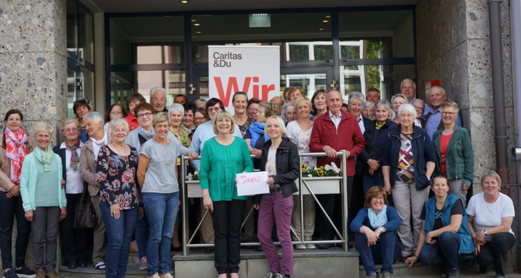 Caritas: 50 HaussammlerInnen kamen zum Dankestreffen nach Wörgl