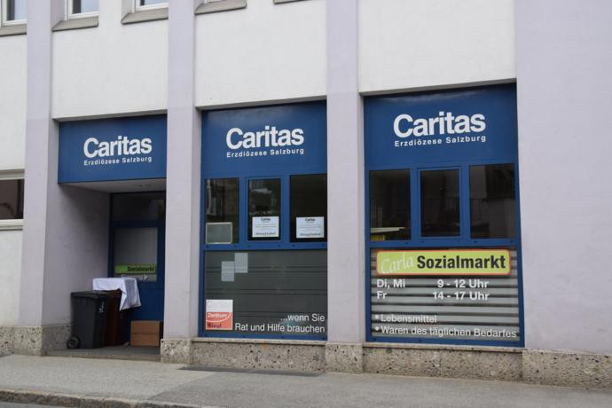 Carla Sozialmarkt wieder geöffnet