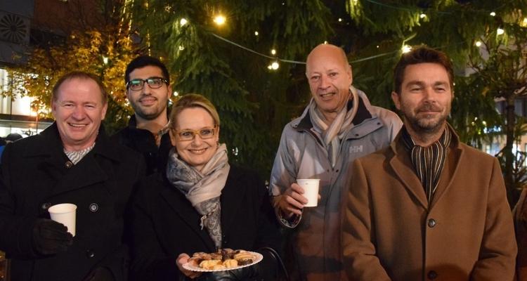 Christbaumfeier zum Adventauftakt in Wörgl