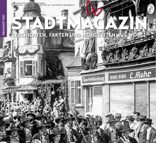 Das neue Stadtmagazin Ausgabe August ist da!