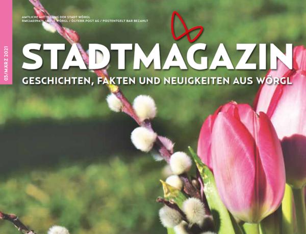 Das neue Stadtmagazin Ausgabe März ist da!