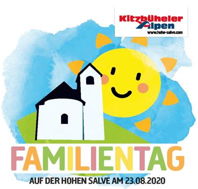 Der Familientag auf der Hohen Salve am 23. August 2020