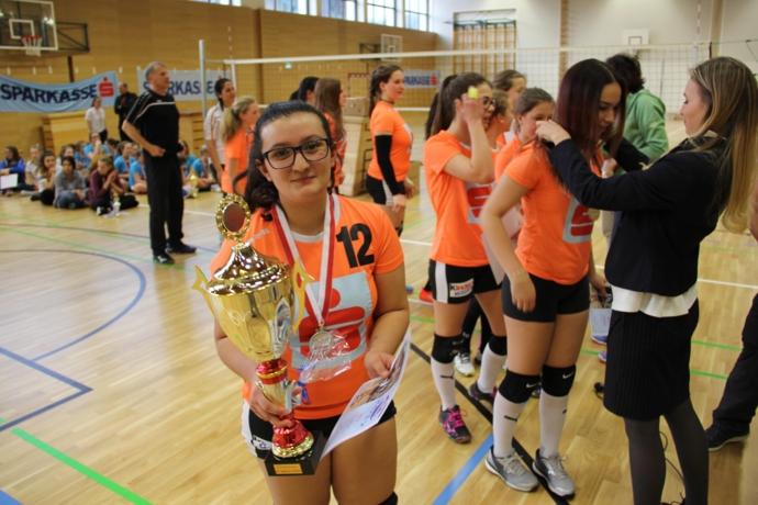 Die Flamingos der Sportmittelschule Wörgl sind Volleyballlandesmeister