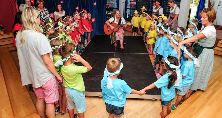 Ein Fest für 25 Jahre - Städtischer Kindergarten Wörgl/Grömerweg feiert Jubiläum