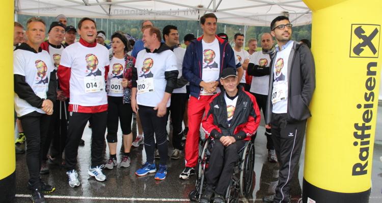 Erfolgreicher 1. Rot Kreuz Charity Run in Wörgl