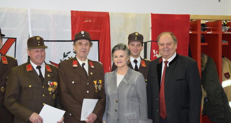 Erfreuliche Jahreshauptversammlung der FF Bruckhäusl