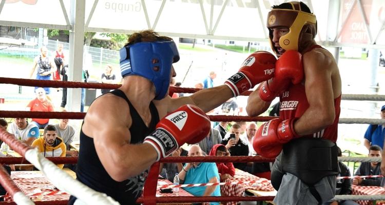 Erste Boxveranstaltung Österreichs in Wörgl