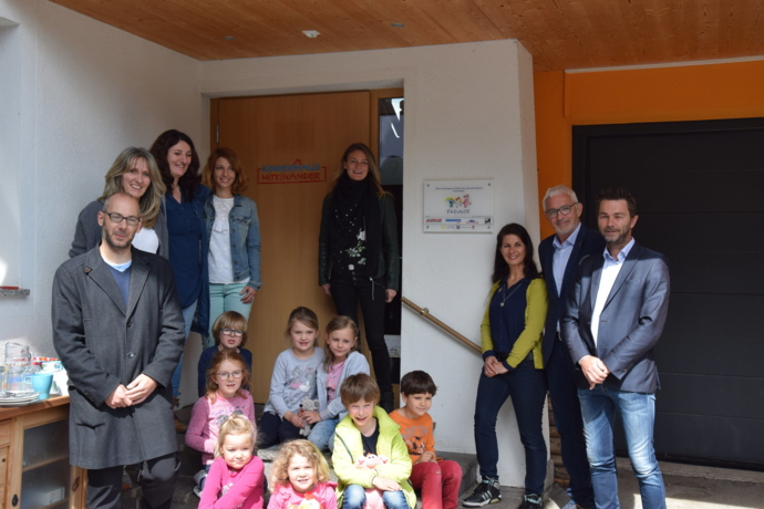 """Erster """"Freunde Kindergarten"""" Tirols zertifiziert"""