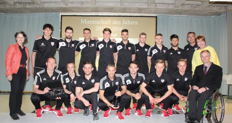 Mannschaft des Jahres: die Kampfmannschaft des SV Wörgl.