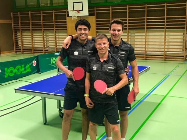 v.r. Alexander Mayrhofer, Markus Dabernig und Jaron Edlinger