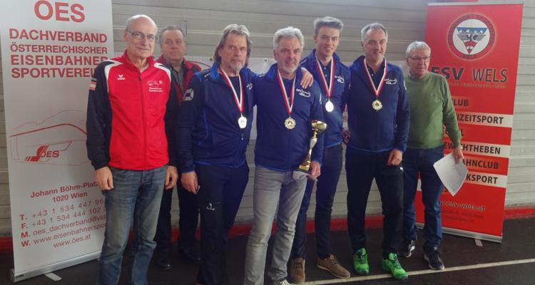 ESV Wörgl, Sektion Stocksport,  mit Kogler Klaus, Spitzenstätter Andreas und Helmuth sowie Christoph  Schneider