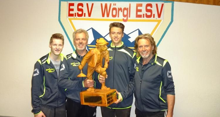 ESV Wörgl Turniersieger in Unterhaching (Bayern)