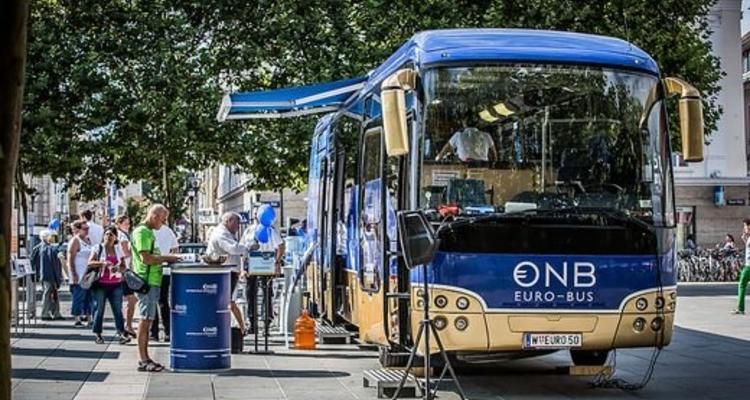 Euro- Bus macht am 2. August beim City Center Halt!