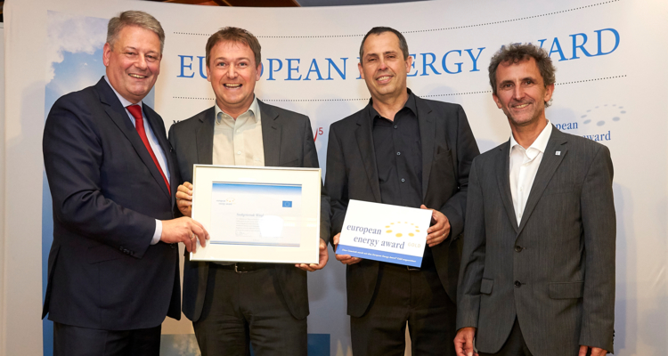 European Energy Award in Gold für Wörgl