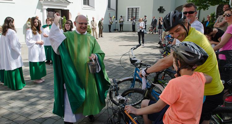 Fahrradweihe am 21. Mai 2017