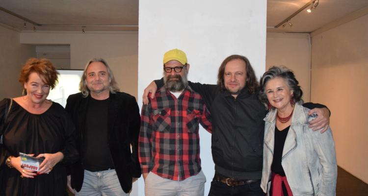 Galerie am Polylog: Ausstellung ADAPOST mit Frank Stürmer & Justin Lieberman