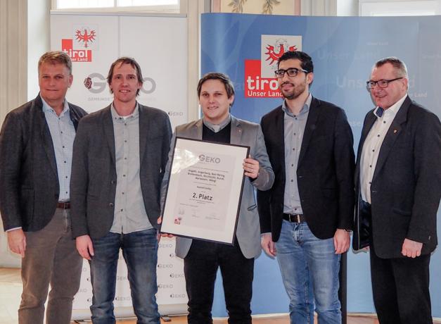 Gemeindekooperationspreis wurde heuer bereits zum zweiten Mal vergeben - Wörgler Projekt am 2. Platz