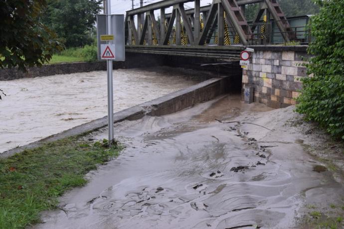 Hochwasser verschonte Wörgl