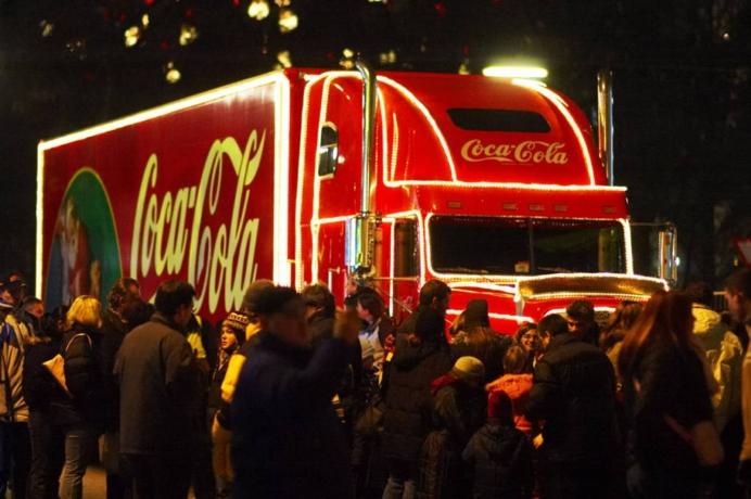 coca cola lied weihnachten
