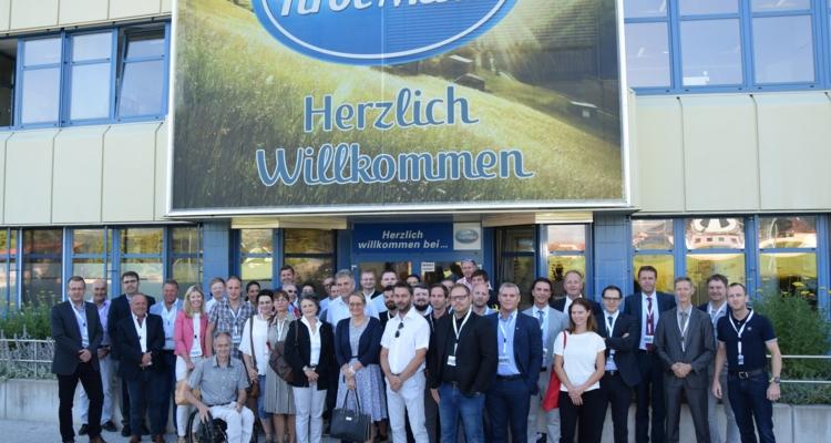 Information und Vernetzung beim ersten  Unternehmerfrühstück in Wörgl