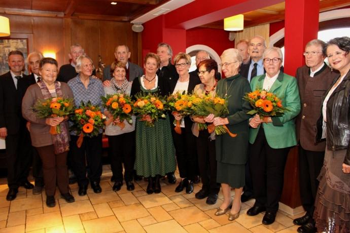 Jubelfeier in Wörgl: 435 gemeinsame Ehejahre