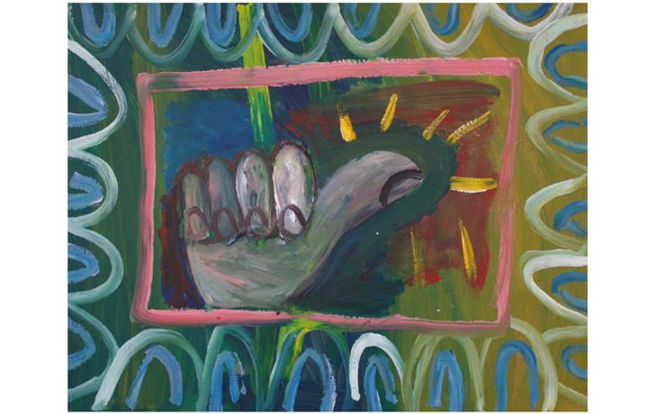 Kunstausstellung - Kevin Coyne, egone und Peter Piek