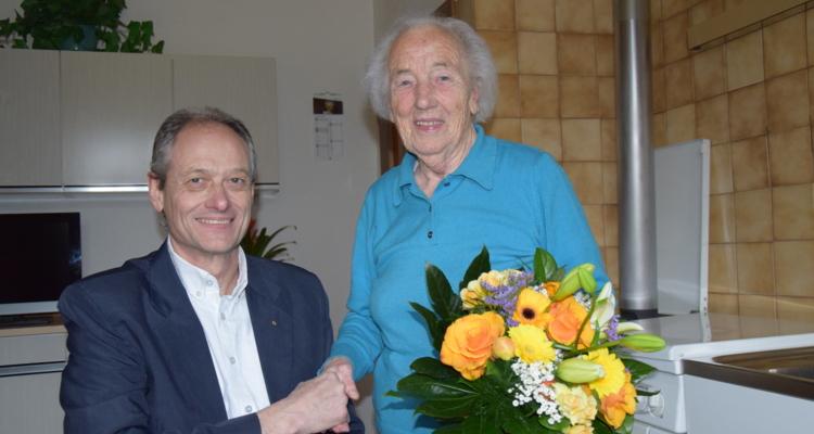 Maria Fürst feierte 95. Geburtstag