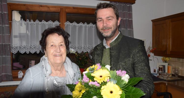 Maria Steiner schaut auf 90 Jahre zurück