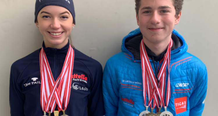 Medaillenregen für SC Latella Wörgl