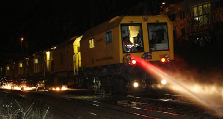 Schienenschleifzug