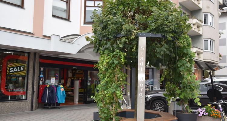 Neue Kommunikationsinsel in der Bahnhofstraße
