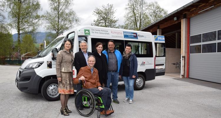 Neuer Sportbus für die Wörgler Vereine