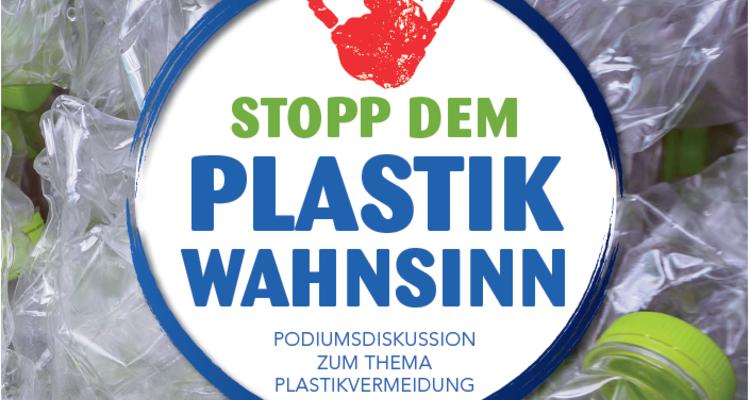 Podiumsdiskussion zum Thema Plastikvermeidung