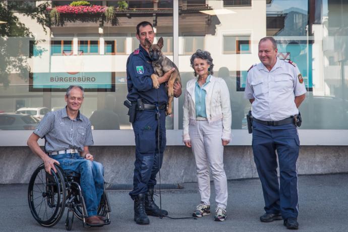 Polizei Wörgl bekommt einen neuen Diensthund